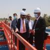 المحافظ يفتتح مشروع ماء البراكية في الكوفة ويتواصل مع بغداد لاعادة العمل في مشروع ماء النجف الكبير