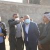 الياسري ومدراء الكهرباء والماء ودائرة البلدية في حي النداء للاطلاع على الواقع الخدمي