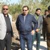 محافظ النجف: يوجه بلدية المناذرة بانشاء متنزه المناذرة الجديد المجاني
