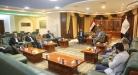 محافظ النجف يستقبل اللجنة المركزية لتشكيلات الشباب العراقي