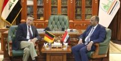 المحافظ يستقبل السفير الألماني في العراق ويتباحثان سبل التعاون المشترك