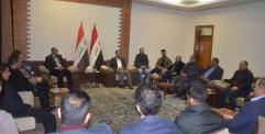 """النائب الاول لمحافظ النجف الاشرف """" الاعلام في العراق هو السلطة الاولى وليس الرابعة ."""
