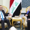 محافظ النجف يلتقي وزيرة الاعمار والإسكان والبلديات والاشغال العامة ببغداد