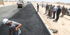 الياسري يتابع تنفيذ المرحلة الخامسة من الشارع القوسي