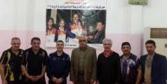 منتدى شباب الامام علي في النجف يستضيف معسكر المنتخب الوطني للرواد بكرة الطاولة