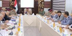قائد عمليات الفرات الأوسط يجتمع في بابل مع قادة شرطة النجف وكربلاء والديوانية وبابل لمناقشة خطط تأمين مناسبة عاشوراء :