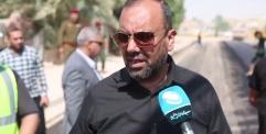 محافظ النجف الاشرف السيد لؤي الياسري يشرف على تبليط شوارع الحي العسكري في النجف