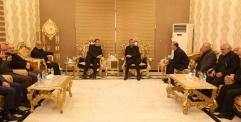 محافظ النجف يستقبل نائب الرئيس الإيراني اسحاق جهانغيري