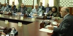 محافظ النجف يحضر اجتماع الهيئة التنسيقية العليا بين المحافظات وبحضور رئيس مجلس الوزراء الدكتور حيدر العبادي