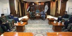 المحافظ يستقبل مدير عمليات وزارة الداخلية