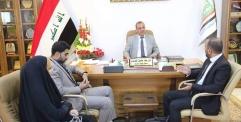 الياسري يستقبل وفد من مركز منظمة خريجي وطلبة الرافدين الثقافي