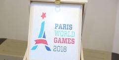 منظمة باريس الدولية للالعاب الرياضية تكرم المحافظ بدرعها للابداع