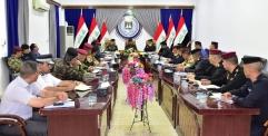 قائد شرطة النجف يعقد اجتماعا  لمناقشة الخطة الأمنية لعيد الاضحى المبارك