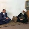 المحافظ يزور أية الله العظمى سماحة المرجع الديني الشيخ بشير النجفي(دام ظله)