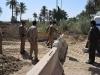 شرطة الكوفة تنصب الصبات الكونكريتية وتقطع الشوارع النيسمية المؤدية الى محافظة الديوانية