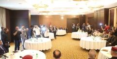 المحافظ يشارك في  المؤتمر التنسيقي الامني  بين المحافظات استعدادا لزيارة الاربعين