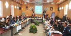 العتبة العلوية المقدسة تشارك بالاجتماع الدولي الخامس لممثلي العتبات المقدسة في العالم الإسلامي في طهران