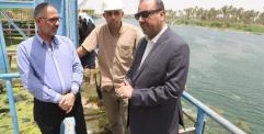 الياسري : شحة المياه لاتؤثر على ماء الشرب في محافظة النجف الأشرف