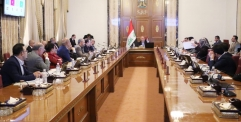 محافظ النجف : موافقة مجلس الوزراء على تخصيص قطع أراضي بواقع 1620 دونم لنقابة المعلمين