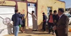 فريق طبي في النجف يطلع على الوضع الوبائي في منطقة مظلوم