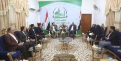 محافظ النجف يستقبل المجلس الاستشاري للشباب ويؤكد دعمه لشريحة الشباب