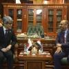 محافظ النجف يستقبل السفير الياباني في العراق للتباحث في التعاون المشترك في جميع المجالات