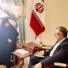 عاصفة الياسري تلتقي بالقنصل الإيراني بشأن الناشط المدني علاء العبودي