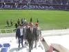الياسري يكشف للجماهير الرياضية لنادي النجف الرياضي بتشغيل الانوار الكاشفة لملعب النجف الاولمبي