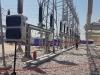 المحافظ ووزير الكهرباء يفتتحان محطة النداء التحويلية
