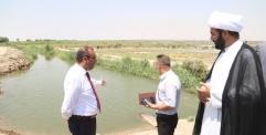 الاهتمام بالموارد المائية من أجل اصلاح الاراضي الزراعية في منخفض بحر النجف نهج الحكومة المحلية