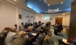 فريق من وزارة التخطيط يزور محافظة النجف الاشرف للاطلاع على سير عمل مشروع الرقم الوظيفي