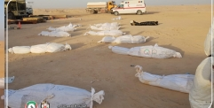دفن 42 متوفي بجائحة كورونا خلال 24 ساعة الماضية