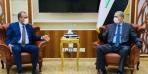 محافظ النجف يلتقي وزير الداخلية الفريق عثمان الغانمي في بغداد