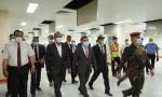 فريق الخبراء الاجانب وصل لاستكمال الانهاءات لمستشفى النجف التعليمي ( الالماني)
