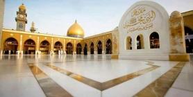 مسجد الكوفة المعظم مقام النبي محمد (ص)
