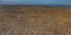 الصور الجوية لمقبرة وادي السلام ..أحد أكبر المقابر في العالم