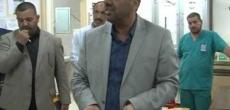 محافظ النجف الاشرف السيد لؤي الياسري يزور مستشفى الولادة بصورة مفاجئة