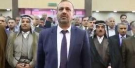 جانب من حضور محافظ النجف الاشرف السيد لؤي الياسري للمؤتمر الدولي الاول للتقنيات الطبية والبيولوجية