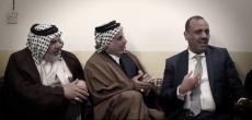 المحافظ السيد لؤي الياسري يقدم التعازي لعشائر اللهيبات بفاجعة أولادهم الشهداء المغدورين