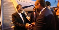 المحافظ يستقبل النائب الاول لرئيس جمهورية ايران الاسلامية
